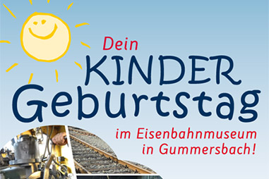 Geburtstage im Eisenbahnmuseum Dieringhausen