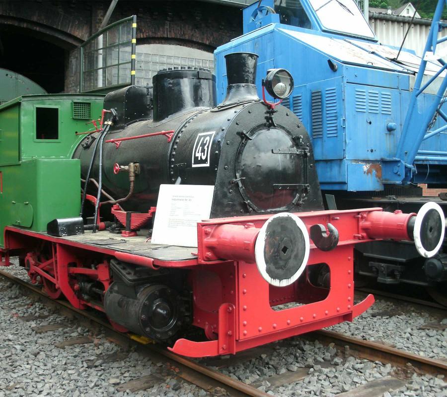 Industriedampflok_43,_Eisenbahnmuseum_Dieringhausen