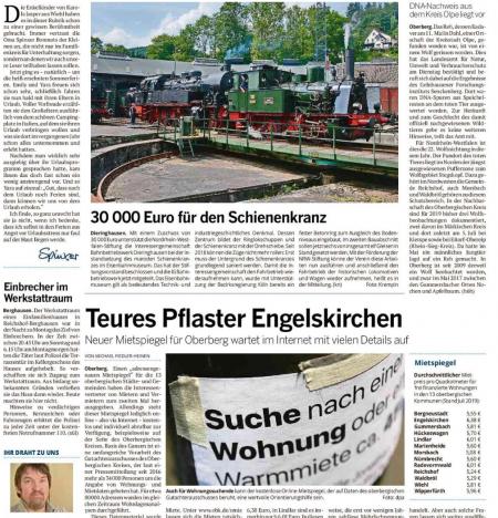 30000 Euro für den Schienenkranz